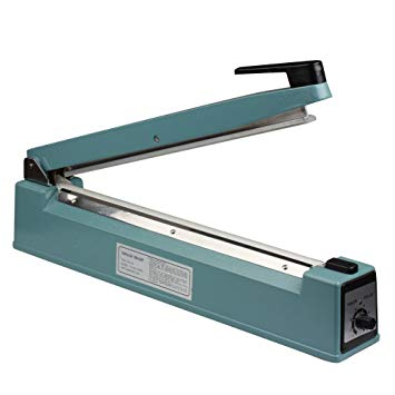 Manual Hand Impulse Heat Sealer Sealing Film Machine FS-400