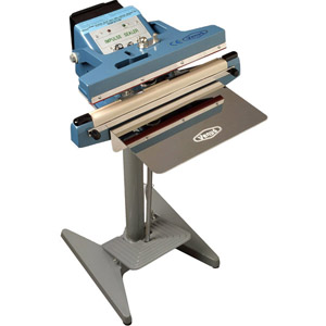 Impulse Double Jaw Foot Pedal Heat Sealer Machines PFS-300