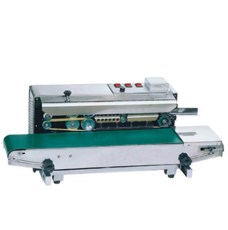 Continuous Automatic Plastic PP PE Bag Sealer Machine China