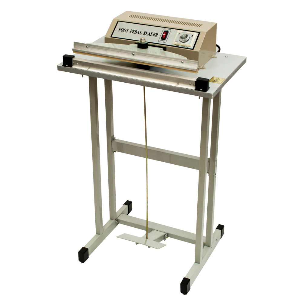 Foot Pedal Impulse Heat Sealer Included Stand Bags FR-600