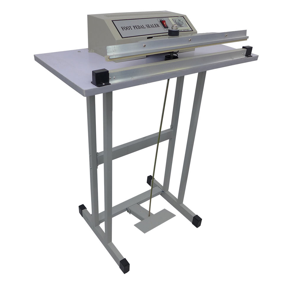 Metal Pedal Sealer Foot Impulse Heat Sealing Machine FR-800