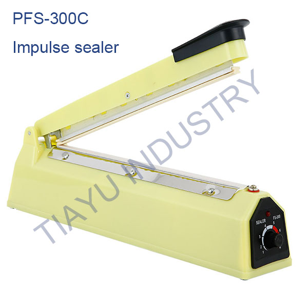 <strong>Impulse Poly-Ethylene LDPE HDPE Bag Sealer China PFS-300</strong>