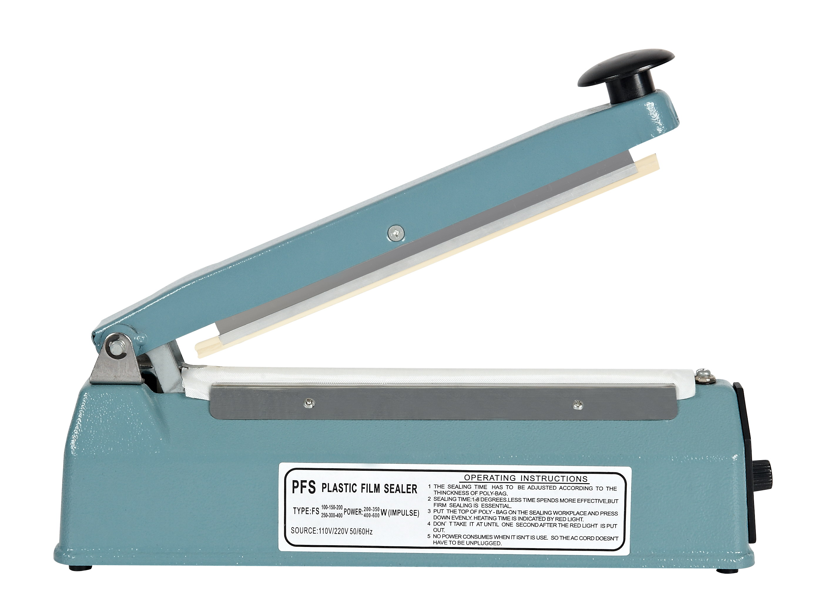 Household Hand Press Sealing Machine Impulse Sealer FS-300